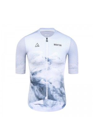 white cycling jersey mens