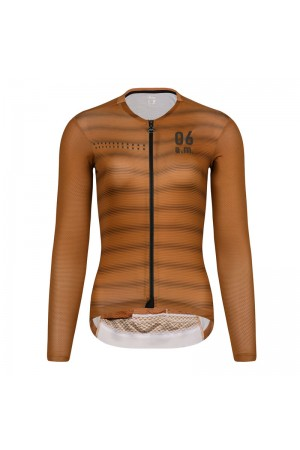 long sleeve summer bike jersey