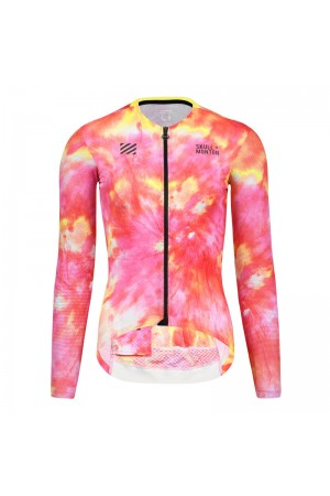 women's long sleeve summer cycling jersey