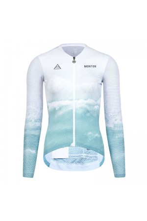 summer long sleeve cycling jersey