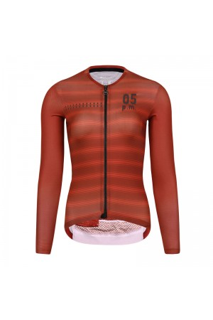 long sleeve cycling jersey women