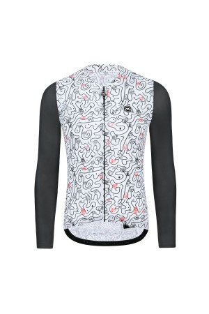 long sleeve cycle jersey