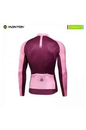Lightweight long sleeve summer cycling jersey