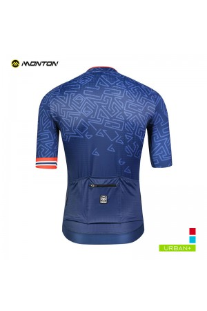 navy blue cycling jersey