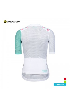 white cycling jersey women's