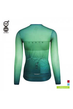 womens long sleeve cycling top