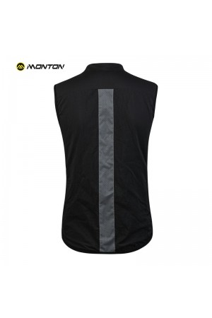 insulated cycling gilet