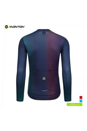 mens long sleeve cycling jersey