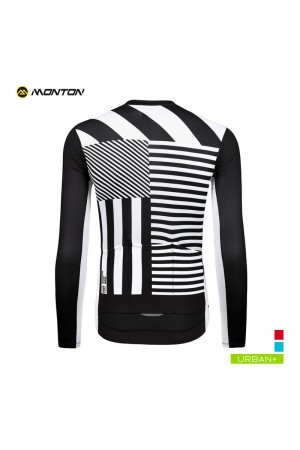 long sleeve cycling jersey mens