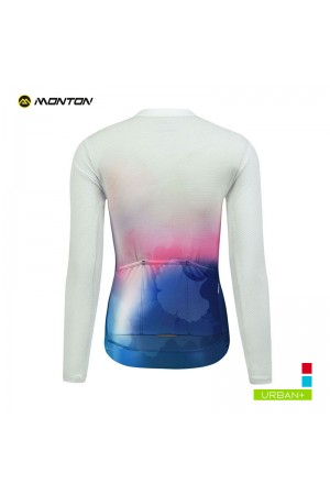 womens long sleeve cycle jersey