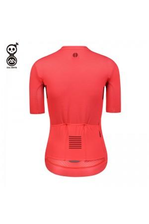 red bike jersey