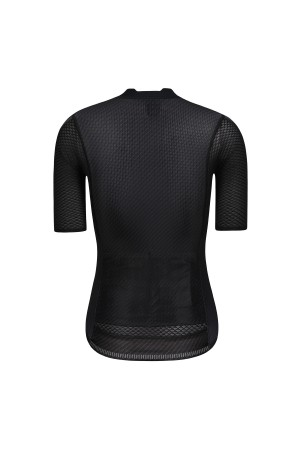 womens black cycling jersey