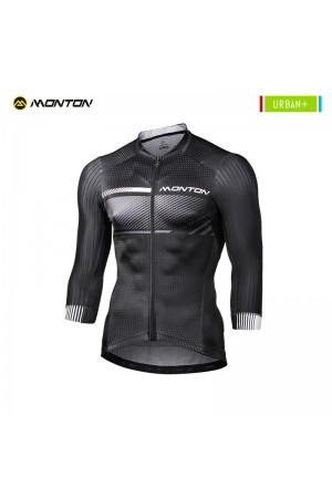 2018 3 4 Sleeve Cycling Jersey Men Urban Plus Ransou