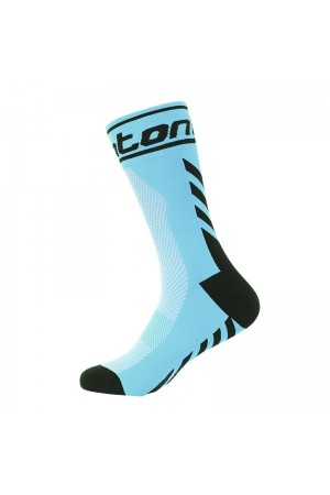 2016 Cool Cycling Socks Positive Angle Blue