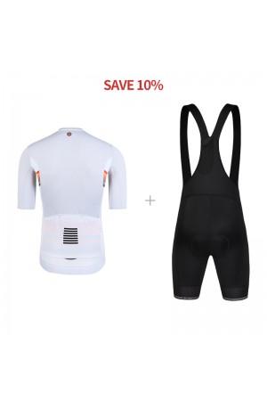 cycling bib and jersey set