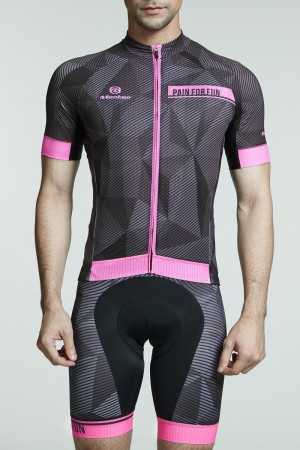 2016 Mens Cool Road Bike Jersey Dawn Pink