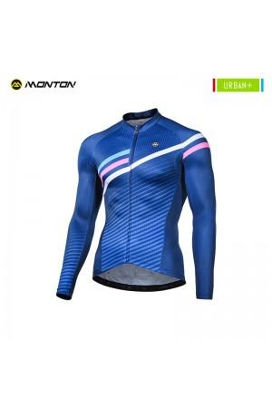 Long sleeve road bike jersey