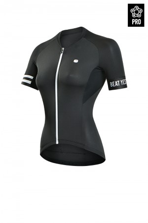 2017 Bike Jersey PRO Traveler Black Women