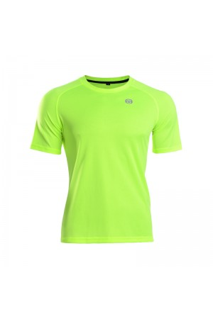 2016 Hi Vis Cycling T Shirts Tenxon Neon Yellow