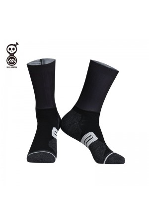 2020 Skull Monton Cycling Socks Weekend BlackGray