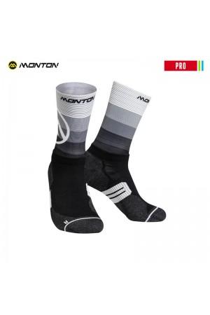 2018 Low Cut Biking Socks PRO Valls 2 Black White