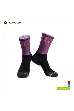 2019 Urban Cycling Socks Spirit Purple