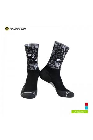 2019 Urban Biking Socks Saimon III Black