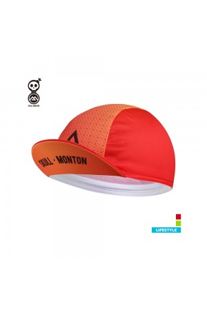 2019 Cobrand Summer Cycling Cap Fire Red