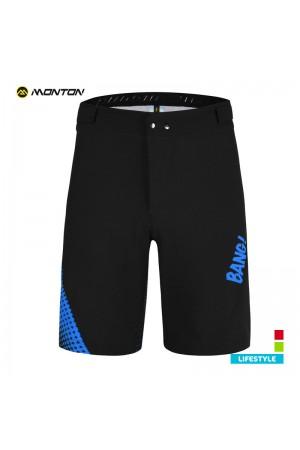 Mens MTB Shorts LIFESTYLE BANG Blue