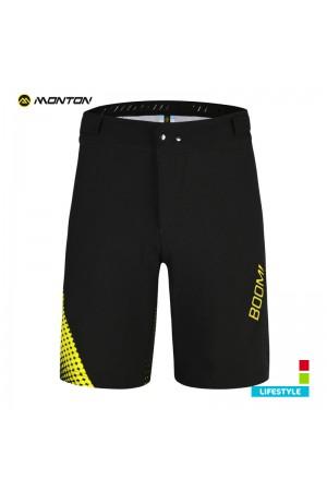 Mens MTB Shorts LIFESTYLE BOOM Yellow