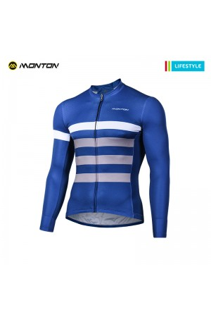 2018 Long Sleeve Cycling Jersey Men Lifestyle Sail
