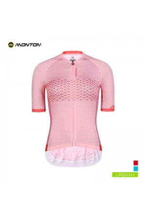 2019 Urban Womens Short Sleeve Cycling Jersey Alameda Pink