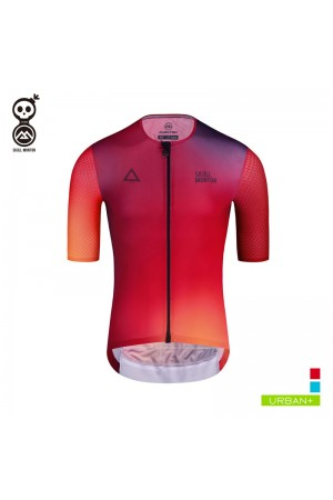 2019 Cobrand Mens Short Sleeve Cycling Jersey Fire