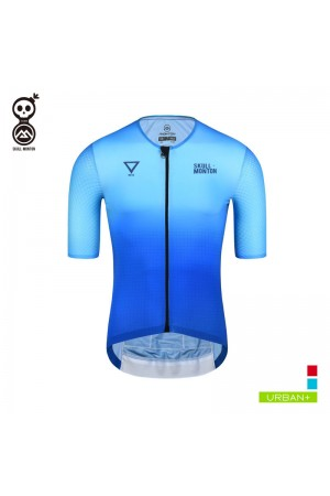 2019 Cobrand Mens Short Sleeve Cycling Top Water