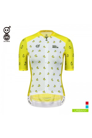 2019 Cobrand Womens Short Sleeve Cycling Jersey Banana