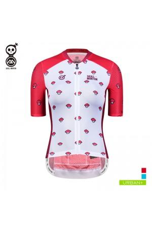 2019 Cobrand Womens Short Sleeve Cycling Jerseys Mushroom