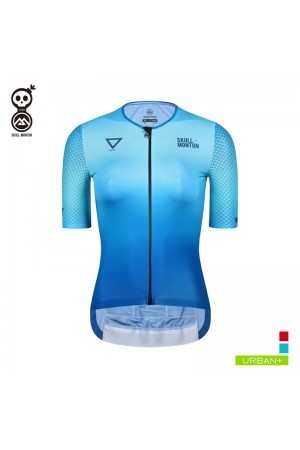 2019 Cobrand Womens Short Sleeve Bike Jersey Water