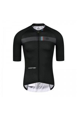 2019 PRO Mens Short Sleeve Cycling Jersey Admiral EVO Black