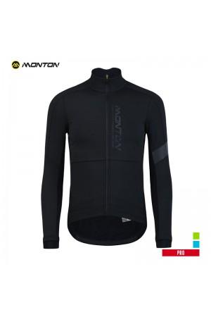 Mens Thermal Cycling Jacket PRO Yonji black