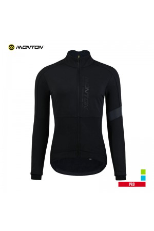 Womens Thermal Cycling Jacket PRO Yonji Black