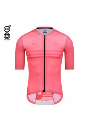 2020 SKULL MONTON Mens Cycling Jersey TUESDAY LightCoral