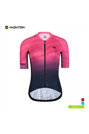 2019 Urban Womens Short Sleeve Cycling Jersey Choze Pink