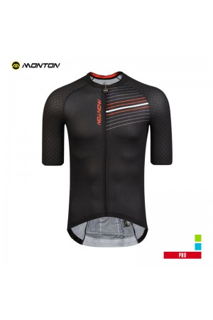 2019 PRO Mens Short Sleeve Cycling Jersey Gowind Black
