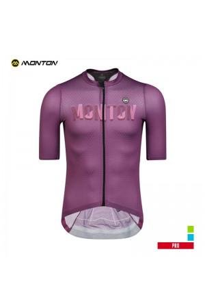 2019 PRO Mens Short Sleeve Cycling Jersey Spirit Purple
