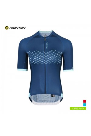 2019 Urban Womens Short Sleeve Cycling Jersey Alameda Blue