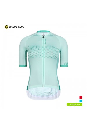 2019 Urban Womens Short Sleeve Cycling Jersey Alameda Aqua