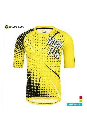 MTB jersey short sleeve LIFESTYLE BOOM yellow