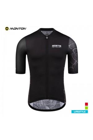 Mens Cycling Jersey LIFESTYLE TattooArt black