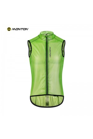 2019 Cycling Wind Vest Breefen Green