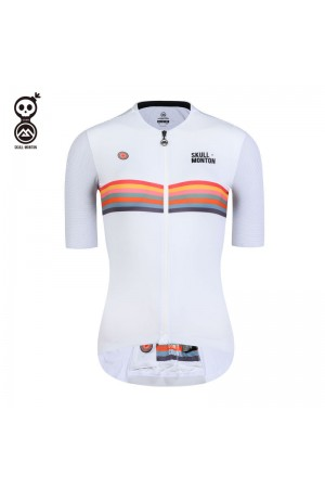 2020 SKULL MONTON Womens Cycling Jersey HOLIDAY White
